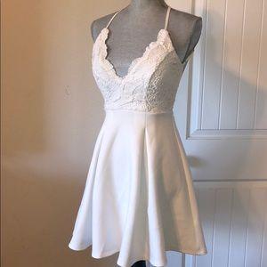 Dresses & Skirts - White lace dress - so beautiful!